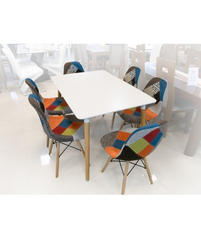 4 CHAIRS PALERMO A + TABLE...